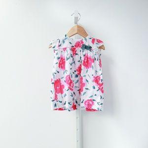 Petit Bateau Floral Baby Dress